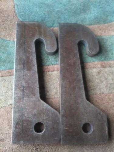 Tanco Loader Brackets 25mm Profile Cut Steel, Weld On Bracket