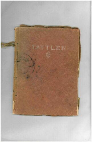 NILES HIGH SCHOOL MICHIGAN ANTIQUE WW 2 ERA YEARBOOK ANNUAL 100 YEAR OLD BOOKS