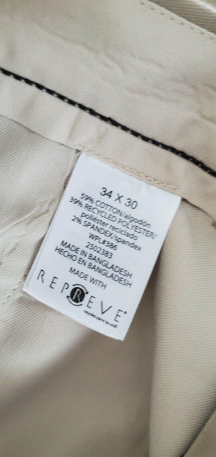 GAP Men/'s Brown Slim Fit Flat Front Pant Size 31,32,33,36,40 NWT