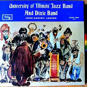 UNIV-of-ILLINOIS-JAZZ-BAND-1969-LP-Ron-Dewar-CECIL-BRIDGEWATER-Maurice-McKinley