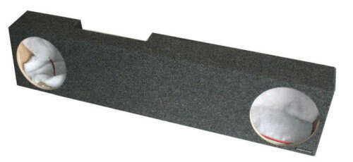 "Sealed Dual 10/"" Subwoofer Box Fits Dodge Ram MEGA Cab 2007-2008"