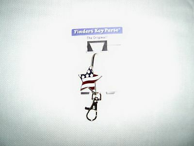 Patriotic Finders Key Purse key finder Hook Flag Keychain Handbag jewelry