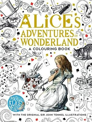 The Macmillan Alice Colouring Book (Paperback), Carroll, Lewis, 9781509813605