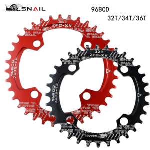 DECKAS 94+96BCD MTB Bike Chainring Bicycle Chainwheel Round Oval 32T 34T 36T 38T