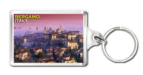 BERGAMO ITALY MOD2 KEYRING SOUVENIR LLAVERO