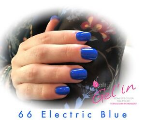 Details About Vernis Semi Permanent Naility Uv Led No 66 Electric Blue 7ml Gel Polish Usa Show Original Title