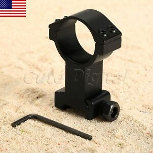 Scope Flashlight Torch 30mm Vertical Mount Ring with 20mm Weaver Picatinny Rail Sporting Goods