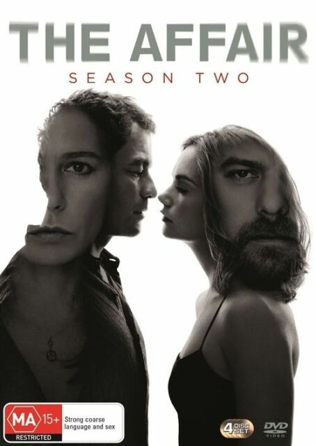 The Affair : Season 2 (DVD, 4-Disc Set) NEW