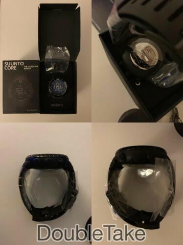 Orologio Suunto Core All Black nuovo new military outdoor watch The equalizer