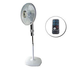 ventilator standventilator mit fernbedienung dynasun dse2rc lcd led 60w timer ebay. Black Bedroom Furniture Sets. Home Design Ideas