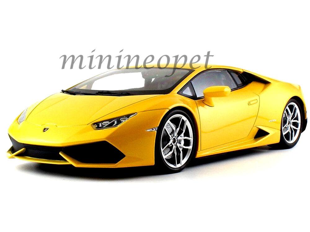 KYOSHO 09511 Y LAMBORGHINI HURACAN LP 610-4 1/18 DIECAST MODEL CAR giallo PEARL