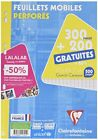 Rp876 Clairefontaine feuillets mobiles perfores A4 seyes
