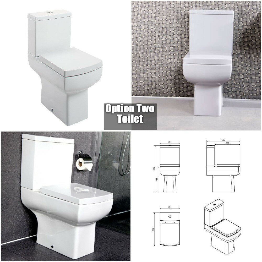 Comfort Raised Height Toilet Soft Close Seat Tall Wc