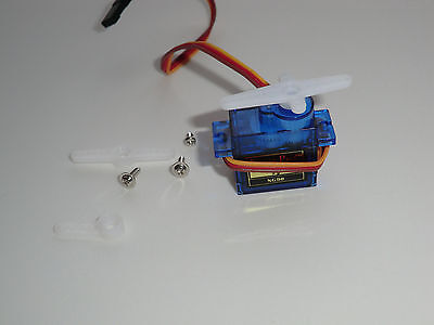SG90 micro servo motor - use with Raspberry Pi or Arduino projects - UK  Stock  | eBay