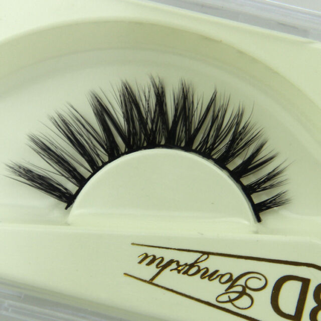 Long Handmade Natural Thick Soft 3D Eye Lashes False Eyelashes Extension Makeup