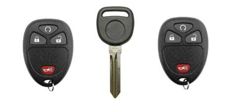2 New Keyless Entry Remote Start Key Fobs Clicker Plus Key Transponder