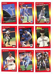 Details About 1992 Donruss Triple Play Baseball Cards U Pick For 195ea Free Ship Nmm