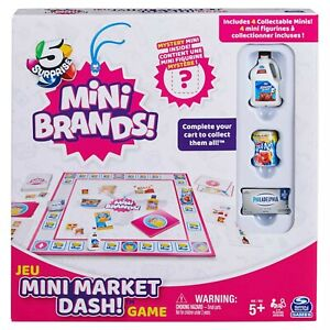 ZURU 5 Surprise Mini Brands Mini Market Dash Game - New for 2021