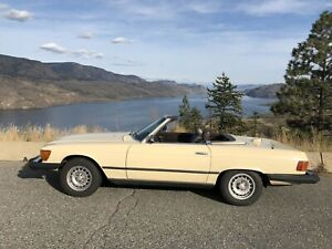 Mercedes 380sl convertible with Hardtop