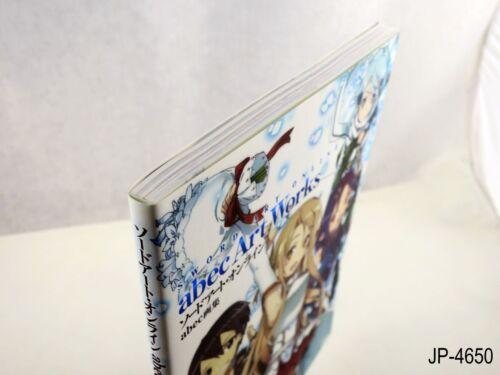 Sword Art Online abec Illustrations Japanese Artbook Japan Art Book US Seller