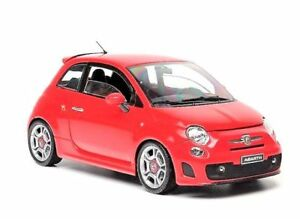 FIAT ABARTH 500 1:18 scale cast model cast models red   eBay