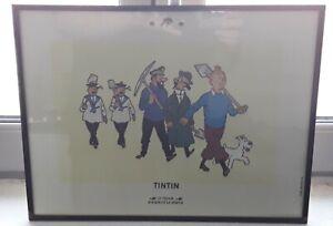 Lithographie-de-Tintin-034-Le-tresor-de-Rackham-le-Rouge-034-par-Herge