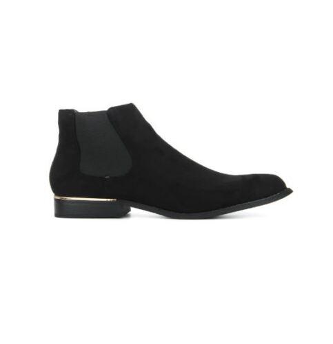 Uk 06 4 Ah Round Ankle Flat 37 Eu Collection Ln089 Length Boot Black Truffle Toe zO868q