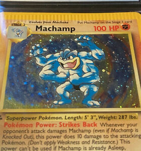 Machamp-8-102-1-Of-A-Kind-1st-Edition-Pokemon-Card-Crimp-Error-Swirl-Holo