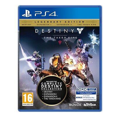 PS4 Spiel Destiny - König der Besessenen Legendäre Edition NEUWARE