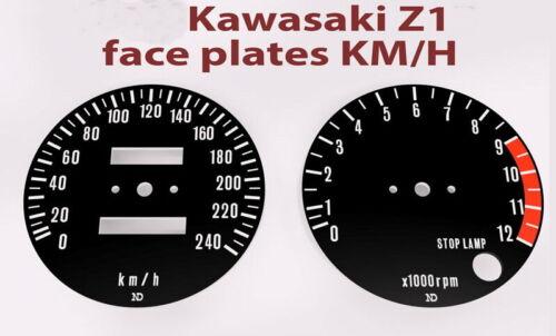 Kawasaki Set Mittel Geschwindigkeitsmesser Drehzahlmesser Für Z1A-B-900 74-75