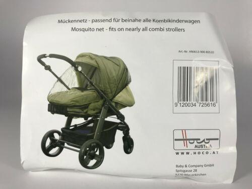 Hoco Mückennetz Moskitonetz für beinahe alle Kombikinderwagen NEU # F450