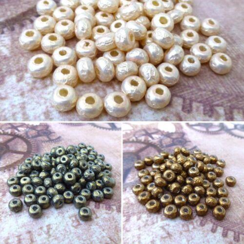 20 grams tube Miyuki pearls 5//0 glass beads BAROQUE