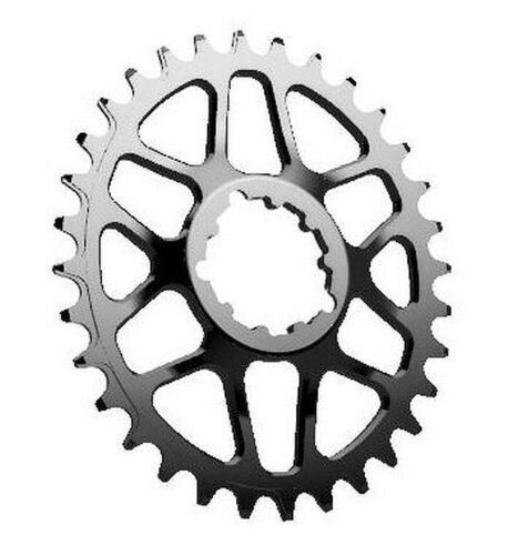 Works Components GXP Boost Spiderless Oval Chainring 30T, 32T