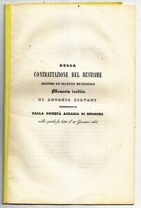 LL318-BOLOGNA-ANTONIO-SILVANI-DELLA-CONTRATTAZIONE-DEL-BESTIAME-1846