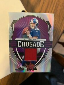 Details about 2006 LEAF ROOKIES & STARS ELI MANNING CRUSADE JERSEY CARD 5/25 ~ #C-7 GIANTS