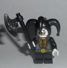 FANTASY ERA Lego Evil Black Jester w/axe NEW castle Black