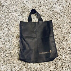 BRAND-NEW-Singapore-Airlines-SIA-Recyclable-Shopping-Bag-Brown-Short-Handle