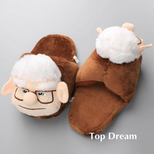 Carl Plush Slippers from Movie UP Fredricksen Russell Friend Indoor Warm Shoes