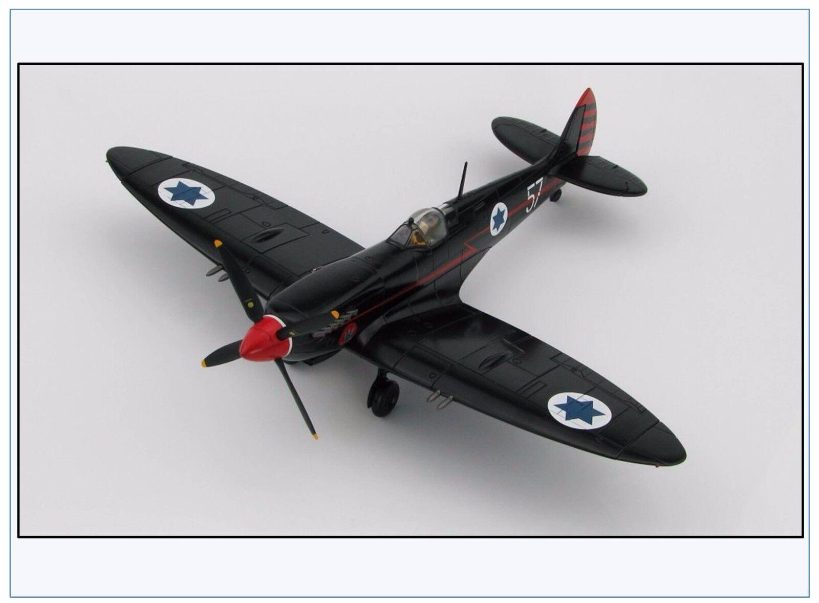 Ha8313 Spitfire Mk. IX Israel Air Force, 105 sqn., 1955, hobby Master 1 48,neu12 16 &