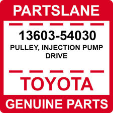 OEM Toyota Land Cruiser LJ120 125 150  LJ70 LJ timing pulley on injection pump