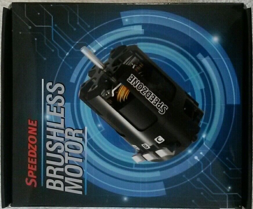 Speedzone 8.5T Modified Brushless Motor 8.5 BL Competition ROAR Approved NEW
