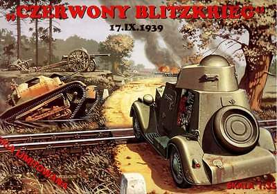 RED BLITZKRIEG DIORAMA  (BA 20 ARMOURED CAR,TKS TANK, AT GUN ETC) 1/35 RPM