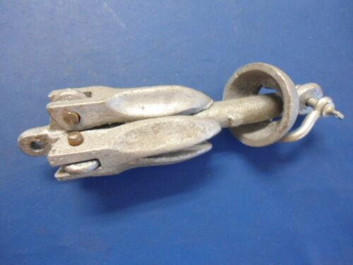 Folding Anchor1.5 lbs Galvanized Boat Accessory 0.7 kgs