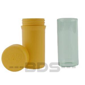 Yellow Jyarz Storage Container Glass Eco Friendly BPA Free USA Made