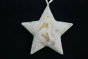 Hand-made-Sparkly-Star-Rabbit-Hare-Decorations-100-CHARITY
