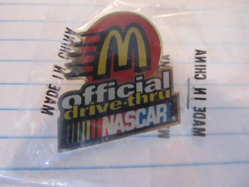 McDonald/'s Nascar Official Drive Thru pin NEW