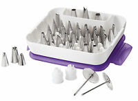 Wilton 55 Piece 2104-0240 Master Decorating Tip Set on sale