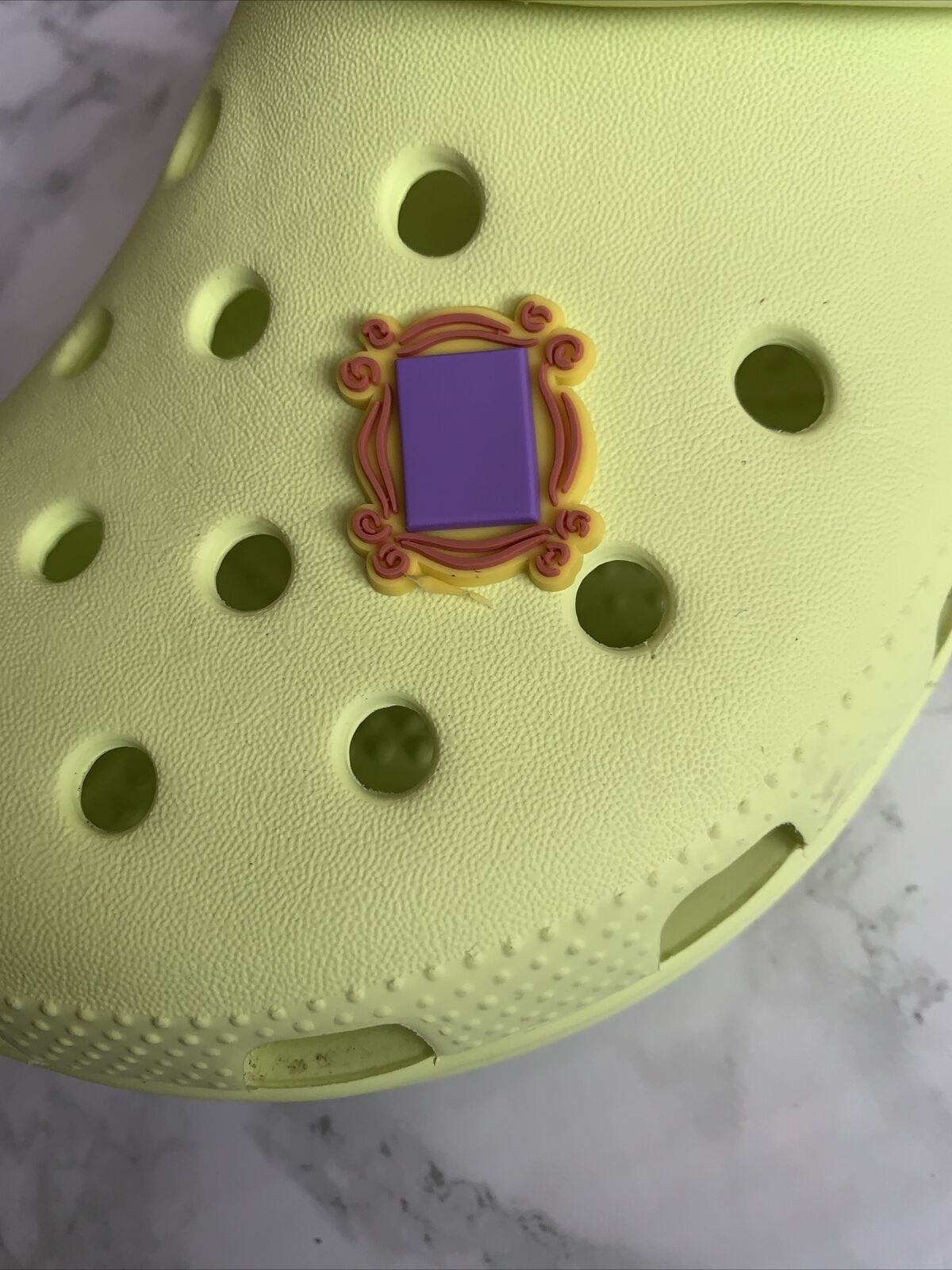 Friends Picture Frame PVC Croc Charm Shoe Accessories