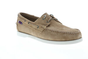 Sebago-Portside-Suede-7000G90-Mens-Brown-Casual-Lace-Up-Boat-Shoes