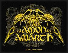 Amon Amarth-ricamate patch-ravenskull